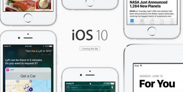 Apple najavil iOS 10